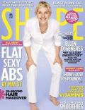 Ellen DeGeneres on the cover of Shape (United States) - May 2010