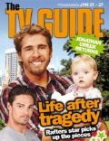 Hugh Sheridan, Jay Ryan on the cover of TV Guide (New Zealand) - January 2012
