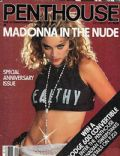 Madonna on the cover of Penthouse (Canada) - September 1985