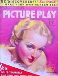 Carole Lombard on the cover of Picture Play (United States) - May 1938