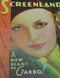 Greta Garbo on the cover of Screenland (United States) - June 1931