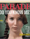 Jennifer Lawrence on the cover of Parade (United States) - March 2012
