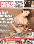 Karina Mazzocco on the cover of Caras (Argentina) - May 2006