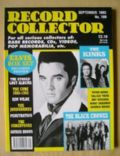 Elvis Presley on the cover of Record Collector (United Kingdom) - September 1993