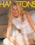 Claudia Schiffer on the cover of Hamptons (United States) - April 2000
