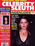 on the cover of Celebrity Sleuth (United States) - October 1998