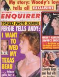 Francesca Gregorini on the cover of National Enquirer (United States) - September 1992