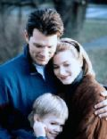 Bridget Fonda and Chris Isaak