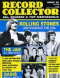 Bill Wyman, Brian Jones, Charlie Watts, Keith Richards, Mick Jagger on the cover of Record Collector (United Kingdom) - February 1997