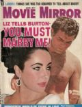 Elizabeth Taylor on the cover of Movie Mirror (United States) - August 1963