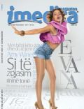 Elvana Gjata on the cover of Imedia Magazine (Albania) - September 2011
