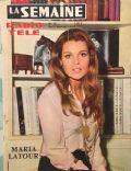 La semaine Radio Tele Magazine [France] (27 March 1971)