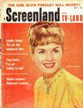 Debbie Reynolds on the cover of Screenland (United States) - May 1959