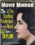 Elizabeth Taylor on the cover of Movie Mirror (United States) - July 1961