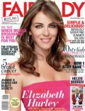 Elizabeth Hurley on the cover of Fairlady (South Africa) - October 2012