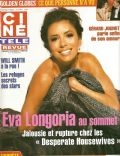 Eva Longoria on the cover of Cine Tele Revue (Belgium) - January 2007