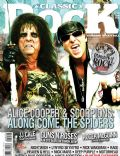 Alice Cooper, Klaus Meine on the cover of Classic Rock (Russia) - May 2009