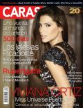 Viviana Ortiz on the cover of Caras (Puerto Rico) - September 2011