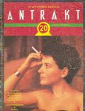 Juliette Binoche on the cover of Antrakt (Turkey) - May 1993