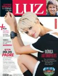 Monica Antonopulos on the cover of Luz (Argentina) - June 2014
