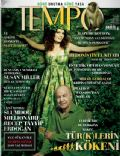Mazhar Alanson, Nil Karaibrahimgil on the cover of Tempo (Turkey) - April 2009