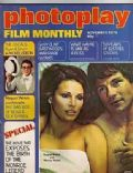 Raquel Welch on the cover of Photoplay (United Kingdom) - November 1976