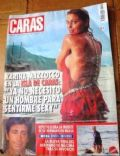 Karina Mazzocco on the cover of Caras (Argentina) - March 2005