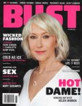 Helen Mirren on the cover of Bust (United States) - November 2010