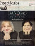 Christina Banegas on the cover of La Nacion (Argentina) - May 2010