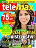 Weronika Rosati on the cover of Tele Max (Poland) - July 2014