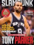 Tony Parker on the cover of Slam Dunk (Turkey) - February 2014