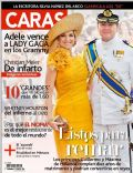 King Willem-Alexander Of The Netherlands, Queen Maxima Of Netherlands on the cover of Caras (Peru) - February 2012