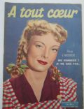 A tout Coeur Magazine [France] (7 November 1950)