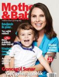 Goncagül Sunar on the cover of Mother and Baby (Turkey) - August 2012