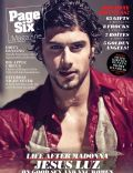 Jesus Luz on the cover of Page Six (United States) - December 2010