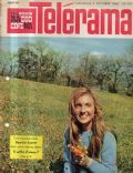 Danièle Ajoret on the cover of Telerama (France) - October 1960