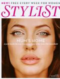 Angelina Jolie on the cover of Stylist Magazine (United Kingdom) - October 2009