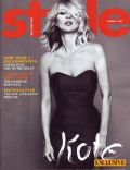 Kate Moss on the cover of Style (United States) - October 2008