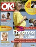Heidi Klum, Heidi Klum and Seal, Madonna, Seal on the cover of Ok (Germany) - August 2009