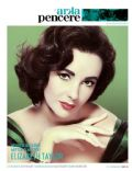 Elizabeth Taylor on the cover of Arka Pencere (Turkey) - April 2011