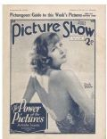 Greta Garbo on the cover of Picture Show (United Kingdom) - May 1932