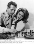 Paul Newman and Sylva Koscina