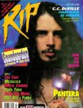 Chris Cornell on the cover of Rip Magazine (United States) - July 1992