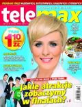Aneta Zajac on the cover of Tele Max (Poland) - May 2012