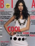 Karolina Malinowska on the cover of Biba (France) - March 2003