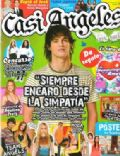 Pablo Martinez on the cover of Casi Angeles (Argentina) - September 2008