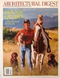 Dennis Quaid on the cover of Architectural Digest (United States) - October 2003