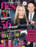 Malgorzata Rozenek, Radoslaw Majdan on the cover of Flesz (Poland) - January 2014