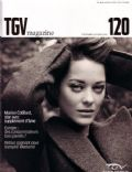 Marion Cotillard on the cover of Tgv (France) - December 2009