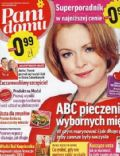 Daria Widawska on the cover of Pani Domu (Poland) - February 2012